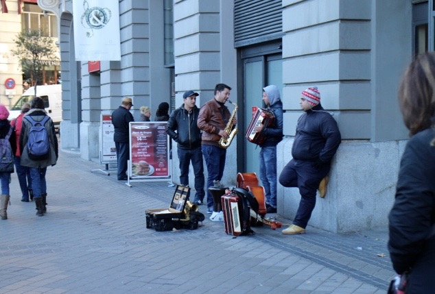 Music on the street.