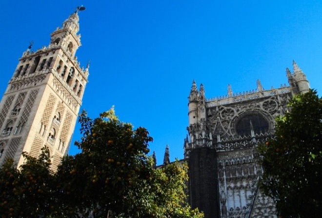 Cathedral & Giralda Tower.