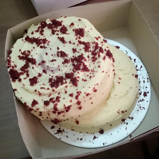 His cake. So do I win best cake award?